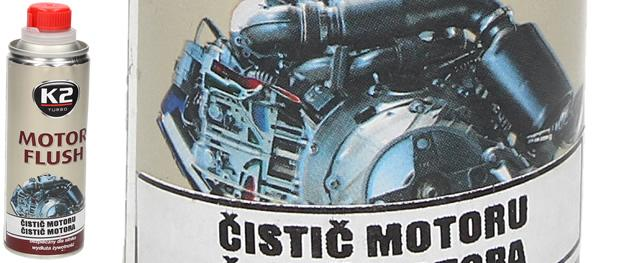 K2 MOTOR FLUSH 250 ml - odstraňovač usazenin v motoru