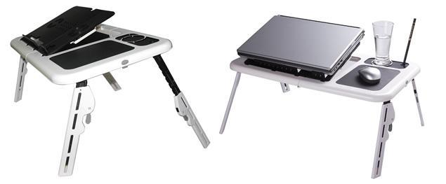 Skládací stolek pod notebook 2v1
