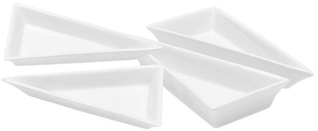 Porcelánová miska trojúhelník 2 kusy