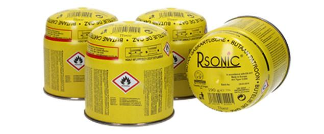 Plynová propichovací kartuše Rsonic