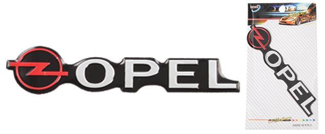 Kovová samolepka OPEL