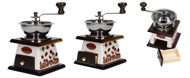 Ruční mlýnek na kávu keramický