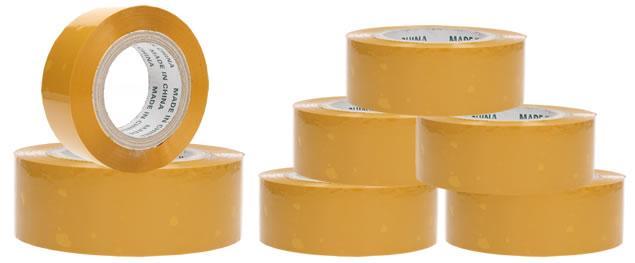 Lepící páska velká žlutá