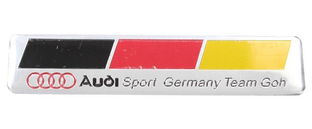 Kovová samolepka AUDI Sport