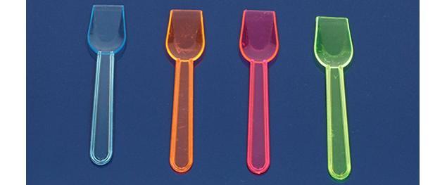 Lžicka na zmrzlinu barevná 29ks