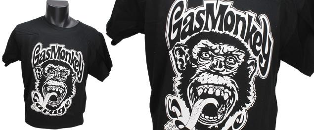 Tričko Gas Monkey Garage černé