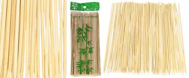 Bambusové špejle 20 cm 90 ks