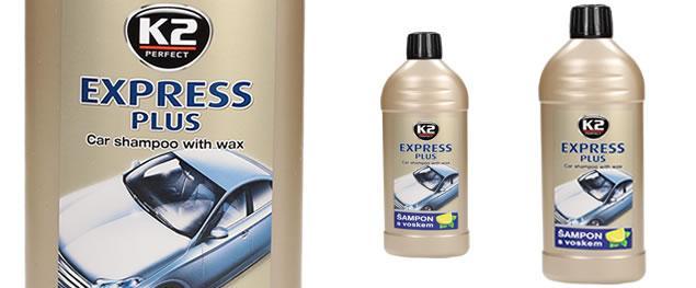 K2 EXPRESS plus 500 ml - šampon s voskem