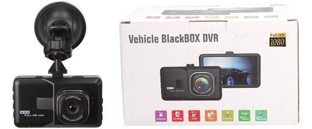 Kamera do auta H198 BlackBOX DVR 3 palce