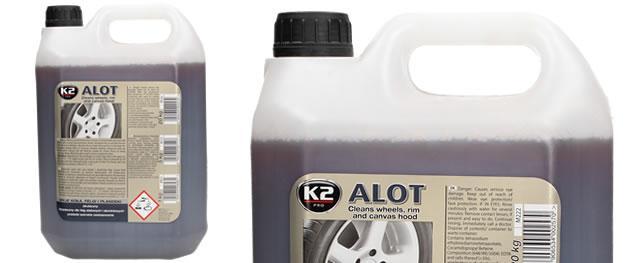 K2 ALOT 5 l - čistič vážných nečistot