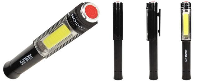 Pero LED kapesní světlo s magnetickou základnou