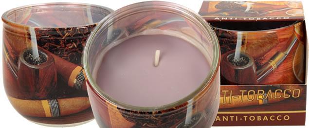 Vonná svíčka anti - tobacco