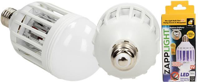 Elektrická lampa Zapp light s lapačem hmyzu