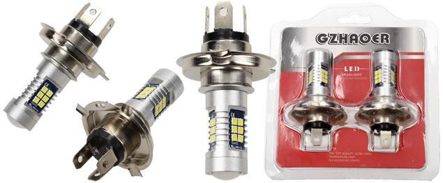 Gzhaoer žárovka H4 2 kusy
