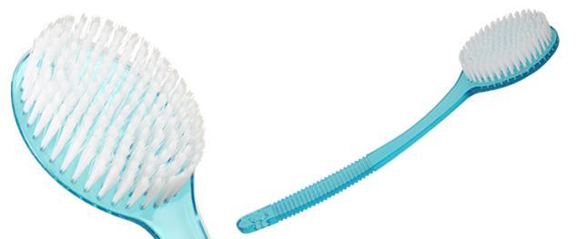 Koupelový masážní kartáč 35 cm
