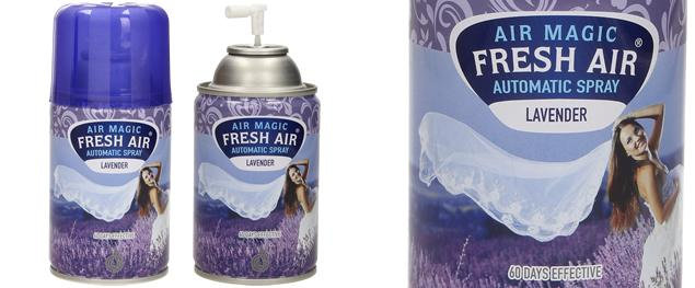 FRESH AIR náplň do automatického osvěžovače vzduchu 260ml - Levandule
