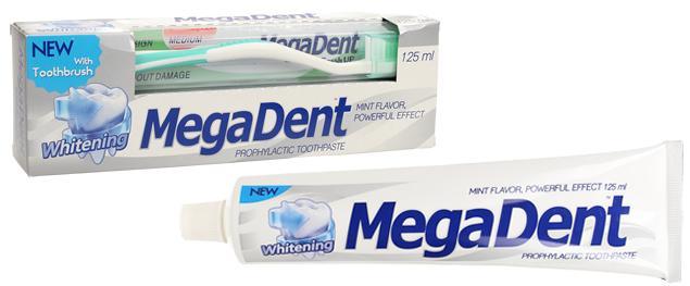 Zubní pasta Whitening 125 ml s kartáčkem