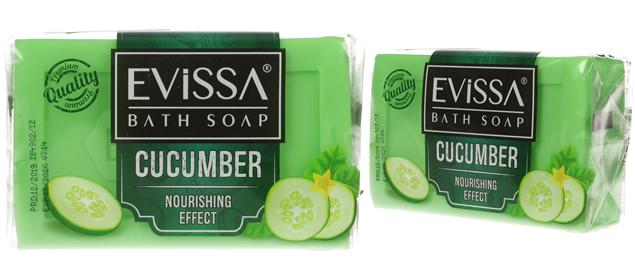 Evissa mýdlo na obličej i tělo cucumber 150g