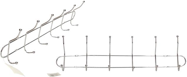 Nástěnný věšák chromovaný 47 cm