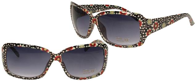 Sluneční brýle kytkované s puntíky 9330