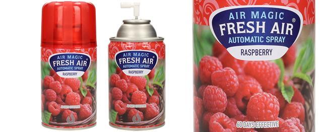 FRESH AIR náplň do automatického osvěžovače vzduchu 260ml - Maliny