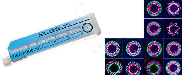 LED světlo do výpletu kola LC-DO16