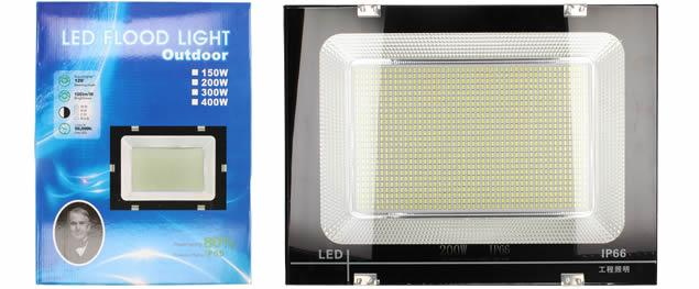 LED super výkonný reflektor 200W Outdoor