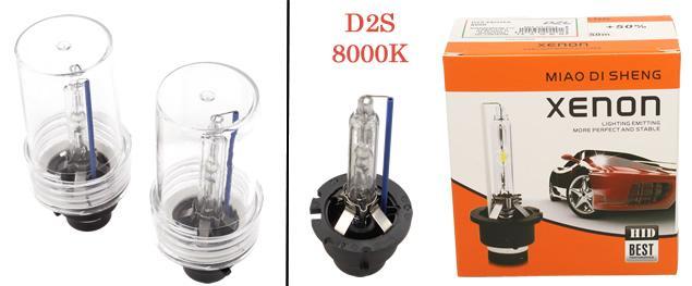 Xenonová výbojka D2S 8000K 2kusy