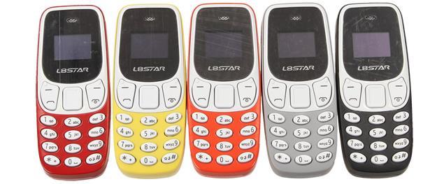 Mini mobilní telefon 3310 dual SIM