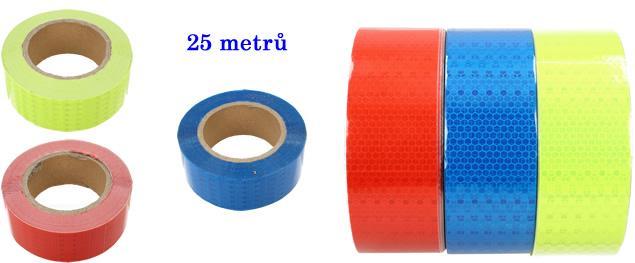 Reflexní páska na auto 25M DZL