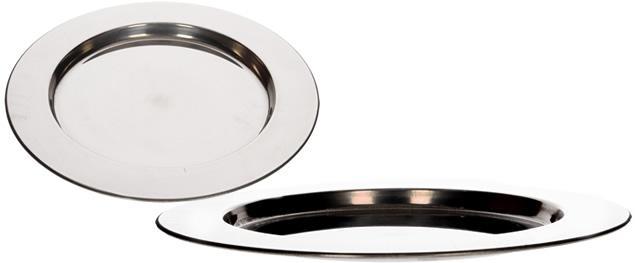 Nerezový talíř velký 28 cm