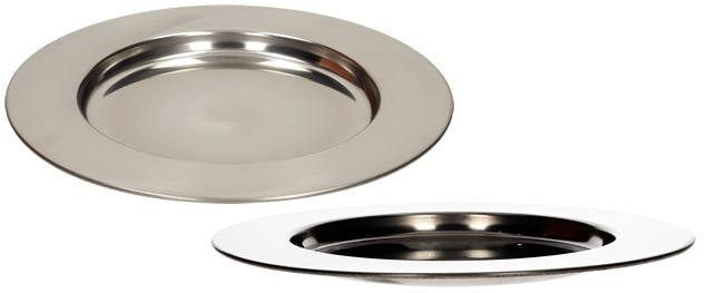 Nerezový talíř malý 24 cm