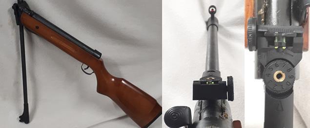Vzduchová puška Tytan Model B2-4