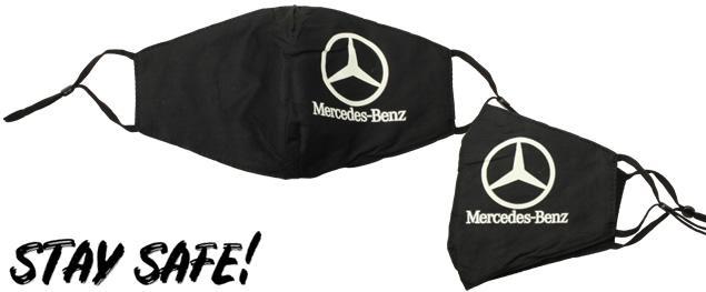 Rouška Mercedes-Benz fosforeskující