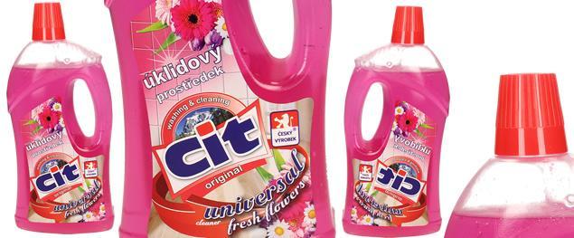 CIT univerzální úklidový prostředek 1L flowers
