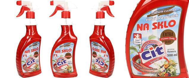 CIT čistící prostředek na sklo 500 ml Flowers