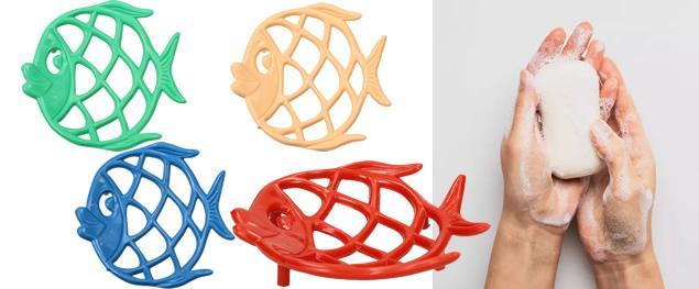 Držák na mýdlo - Ryba