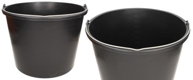 Kýbl plastový 20 l černý