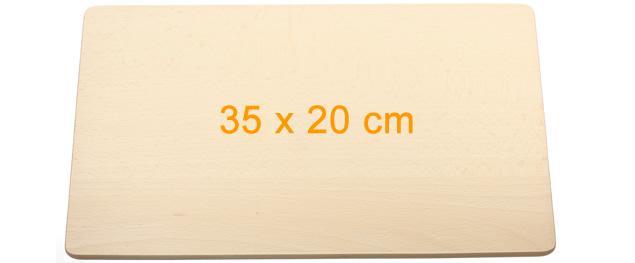 Krájecí deska dřevěná 35x20 cm
