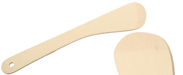 Dřevěná obracečka skosená 30 cm