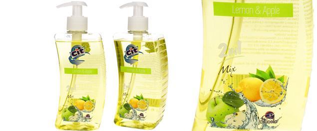 Cit tekuté mýdlo 500ml Lemon & Apple 2v1