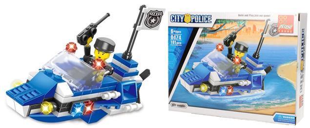 Stavebnice Peizhi City Police 0474