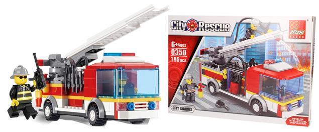 Stavebnice Peizhi City Rescue 0350