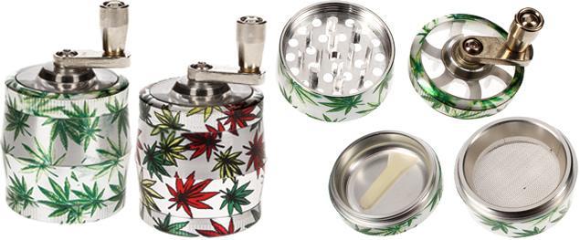 Drtička bylinek a tabáku mlýnek