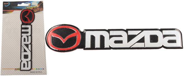 Kovová samolepka MAZDA 13 x 2,5 cm