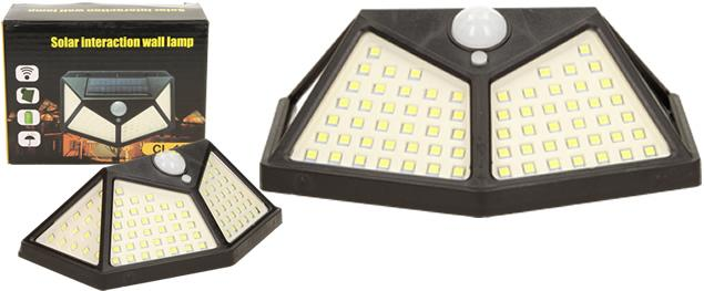 LED solární světlo s pohybovým čidlem CL-162