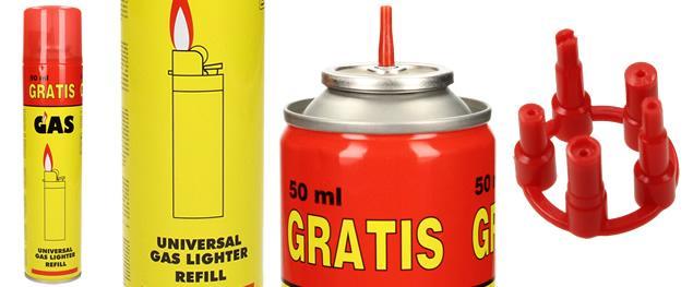 Univerzální plyn do zapalovačů 300 ml