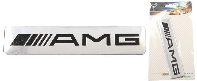 Kovová samolepka AMG 12 x 2,5 cm