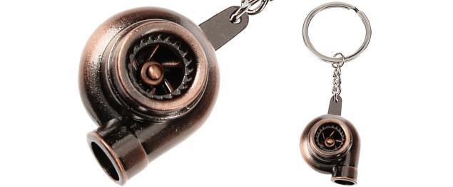 Klíčenka- součástka auta turbo