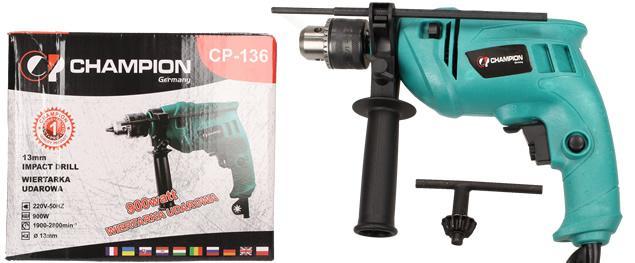 Vrtačka s příklepem CP-136